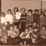 Zwycięska drużyna ze Szkoły Podstawowej w Oświęcimiu