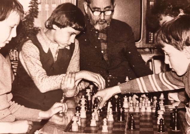 Sekcja szachowa prowadzona przez p. B. Łukawieckiego Rok 1978