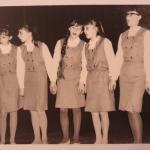 Dziecięcy zespół muzyczny Alladynki 1965r.