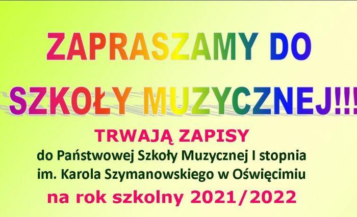 Rekrutacja 2021-2022 - popołudniowy
